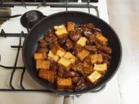 鶏肝と厚揚げの照り煮37
