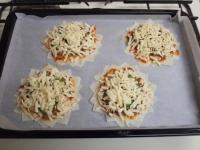 春巻き皮で納豆ピザ31