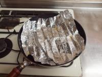 ぶりあらと厚揚げの煮物33