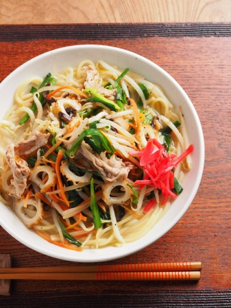 野菜マシマシパスタラーメン09