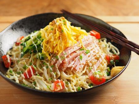 パスタ麺で冷やし中華17