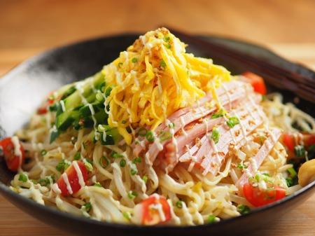 パスタ麺で冷やし中華19