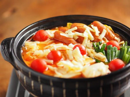 トマト湯豆腐10