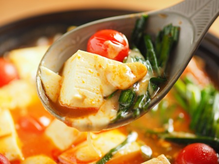 トマト湯豆腐21