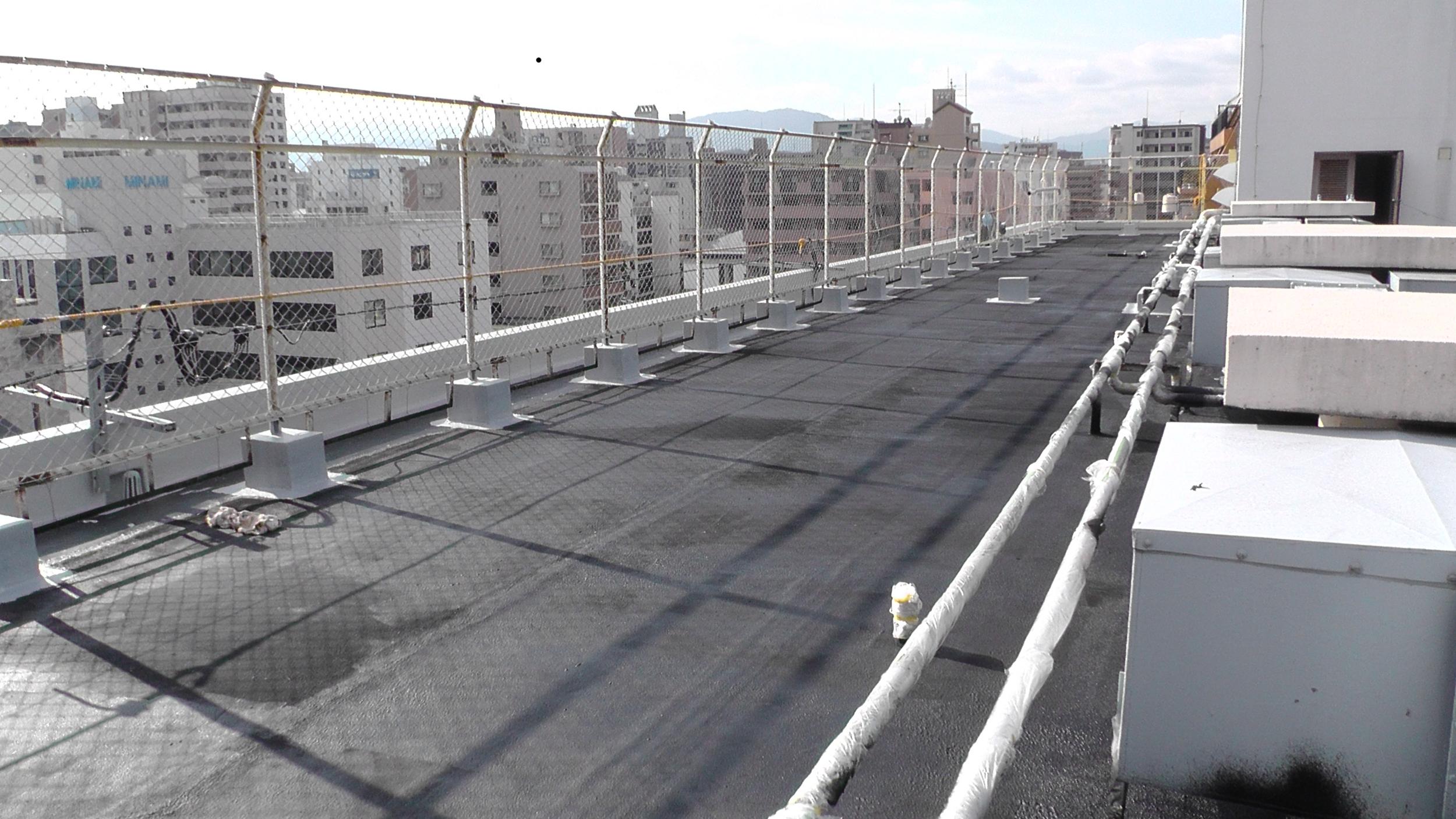 福岡県 Sアパート ウェットスーツ施工風景7