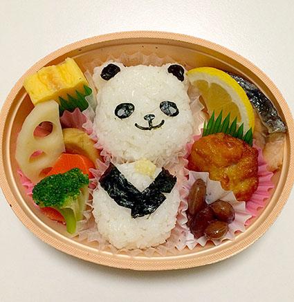 上野のパンダ弁当