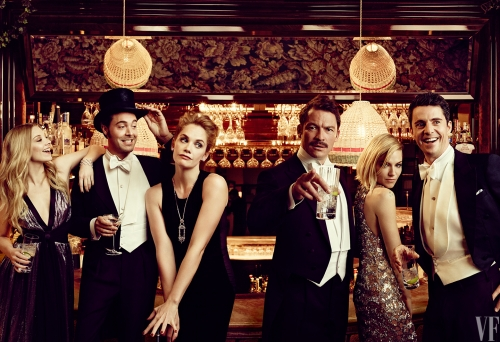 21 NATALIE DORMER, JACK HUSTON, RUTH WILSON, DOMINIC WEST, SIENNA MILLER, AND MATTHEW GOODE
