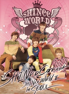 SHINee The 2nd Concert Album: SHINee WORLD II in Seoul