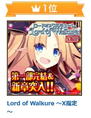 ロードオブワルキューレ Lord of Walkure~X指定~ アダルトオンラインゲーム