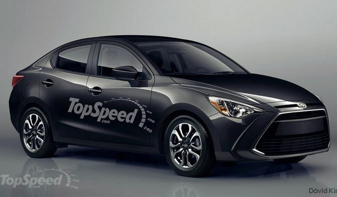 SCION iA spy image