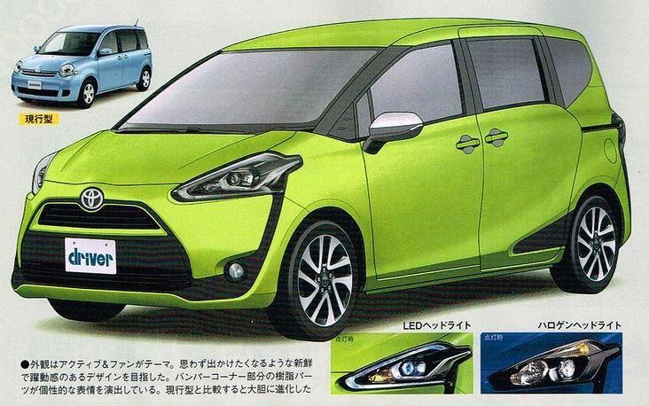 トヨタ 新型シエンタ2