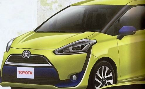 トヨタ 新型シエンタ フロントデザイン