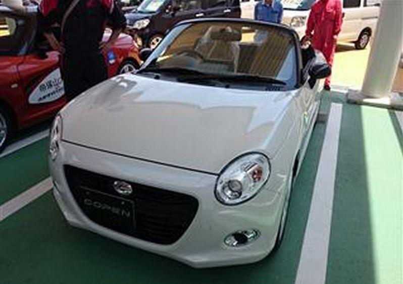 ダイハツ コペンセロ 実車