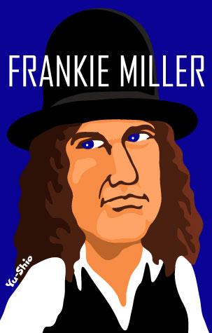 Frankie Miller caricature