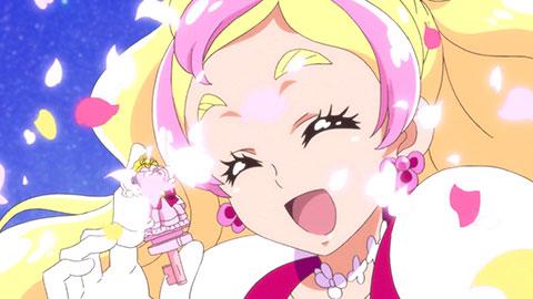 【Go!プリンセスプリキュア】第01回「私がプリンセス?キュアフローラ誕生!」