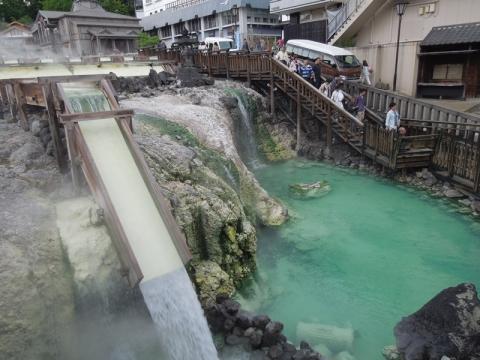 草津温泉湯畑2