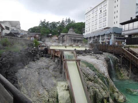 草津温泉湯畑3