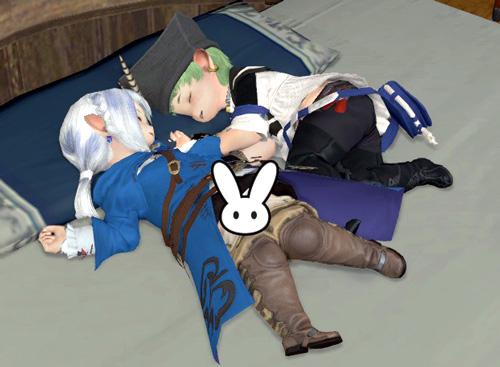 眠るララズ