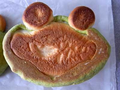 アンデルセンのかえるパン