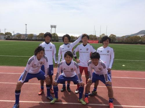 2015年度 全広島サッカー選手権 大学予選(2015:4:12 日)2/3