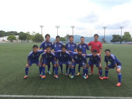 2015年度(第39回)中国大学サッカー選手権 3回戦(2015:5:24 日)1/4