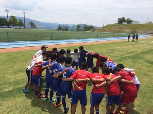 2015年度(第39回)中国大学サッカー選手権 3回戦(2015:5:24 日)3/4
