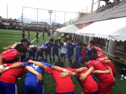 2015年度(第39回)中国大学サッカー選手権 準決勝(2015:5:30 土)2/2