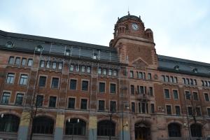 3月28日 ストックホルム駅前