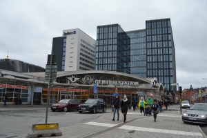 3月28日 ストックホルム中央駅