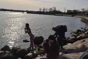 2015年3月22日 人魚の近くで踊ってる人