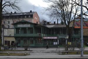 スカンセンの向かいのレストラン