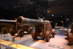 ヴァーサ号に積まれていたらしい大砲