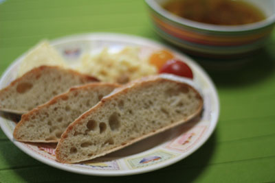 レーズン酵母そば粉パン3