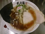 魚貝醤油ラーメン@武者麺SEA
