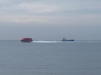 北条海岸 校則ジェット船