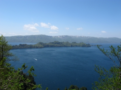 十和田湖 瞰湖台より