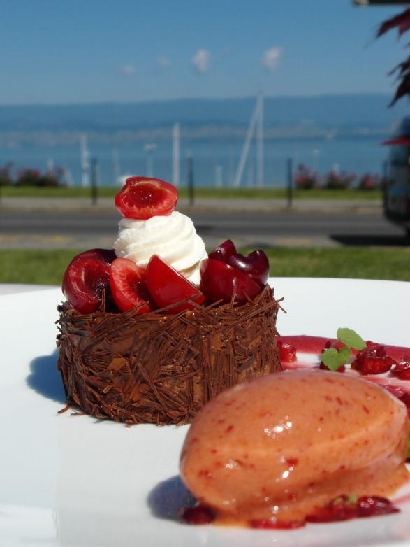 dessert foret noir