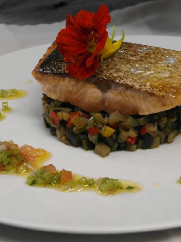 plat saumon
