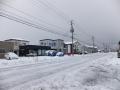 1月3日雪道