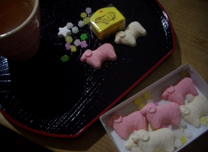 和菓子(羊)
