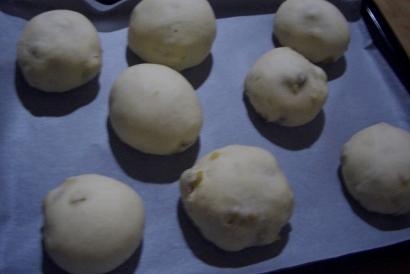 栗の手作りパン