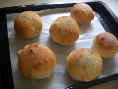 手作りパン(りんご&アールグレイ)