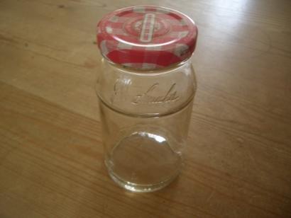 ジャムの瓶