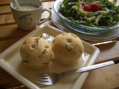 手作りパン(フォカッチャ)