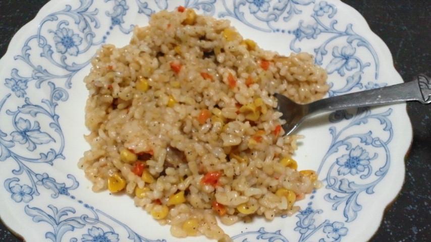 玄米ベジタブルピラフ2