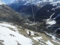 Zermattからの登り始め
