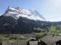 グリンデルヴァルト、ホテルからの景色