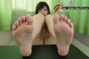 ロリJKのマル秘アルバイト 足裏アート展/紺野渚