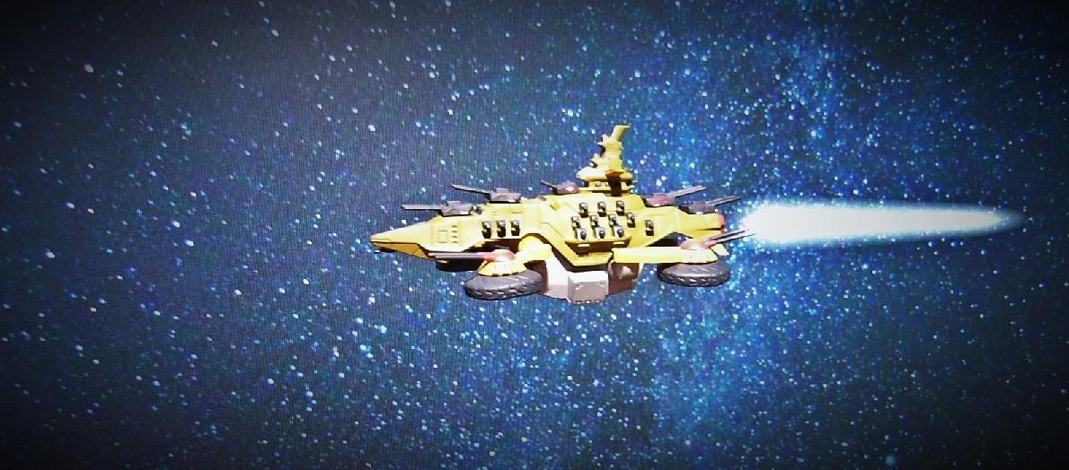 ガンダム 戦艦 デジラマ