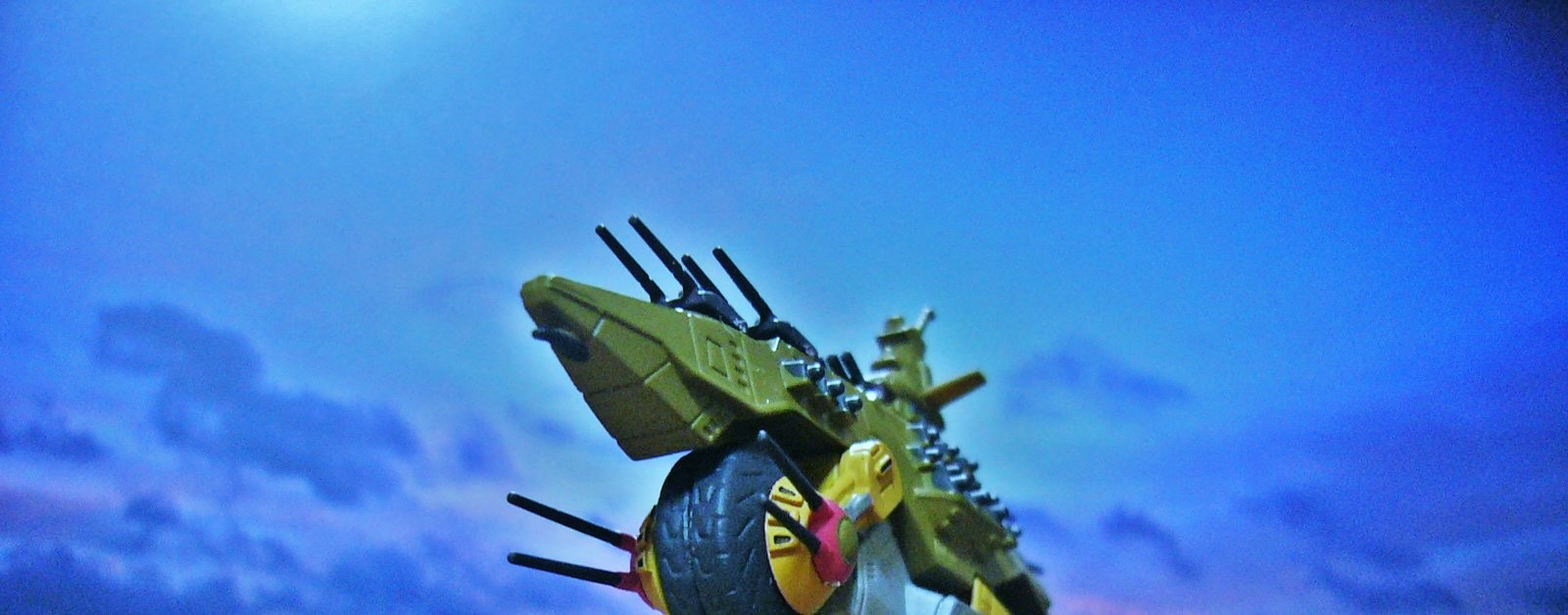 アドラステア Adrastea メガ粒子砲 モトラッド艦隊 バイク戦艦 陸上戦艦 万能戦艦 デジラマ リアラマ ジオラマ